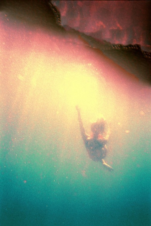 and we sunk beneath the waves.